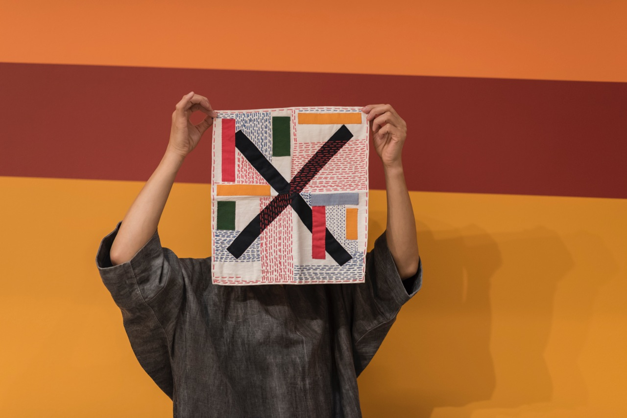 0a6cf5659 Yong Min Cho: Other Objects, performance at the exhibition by Nathalie Du  Pasquier, Other Rooms (Camden Arts Center: September 2017 - January 2018).